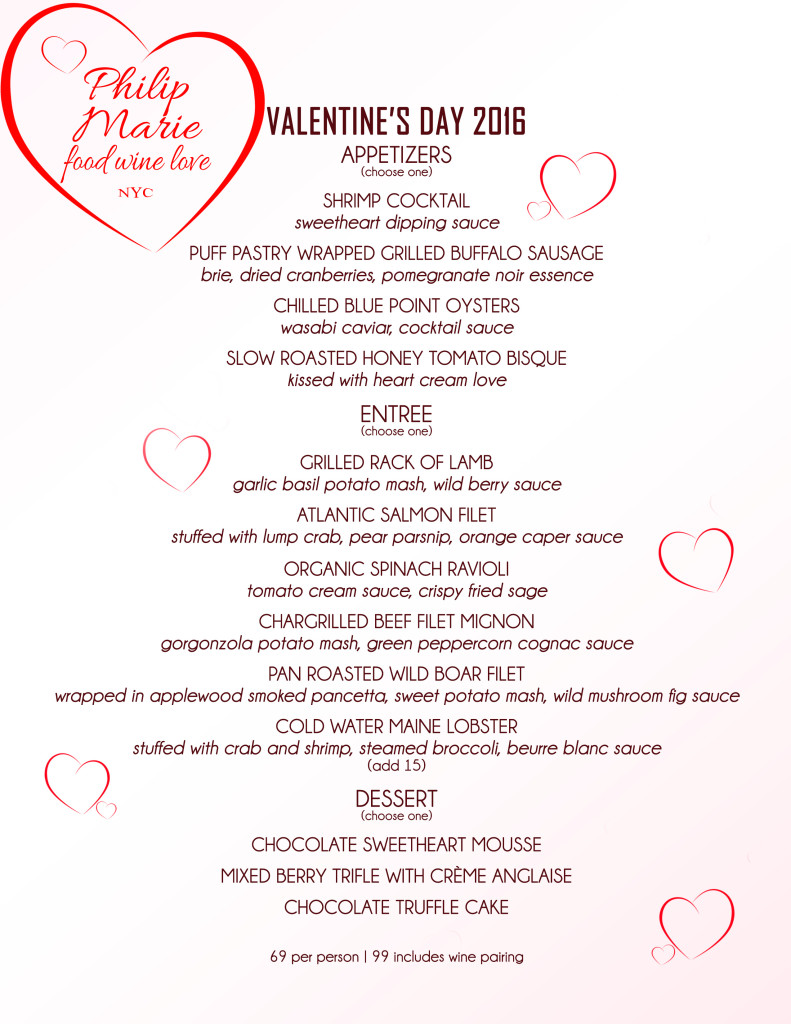 VDAY Menu 2016 SUZ EDIT House